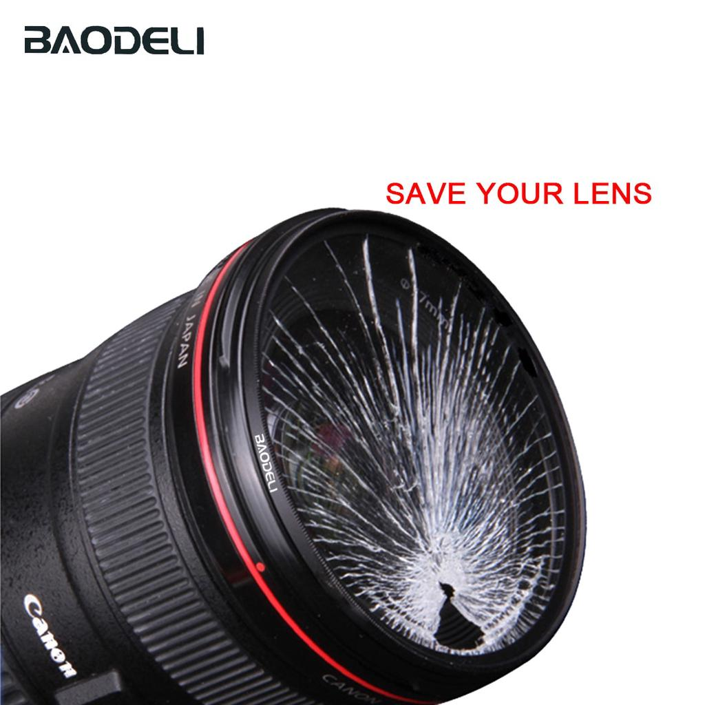 52mm Complete Full Orange Color lens Filter Lens Protector For Canon Nikon Sony Digital Camera Lens