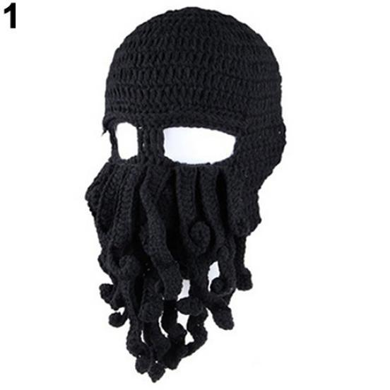 Hat Fashion Creative Tentacle Octopus Knit Beanie Hat Cap Wind Ski Halloween  Mask-buy at a low prices on Joom e-commerce platform 535264668ee2