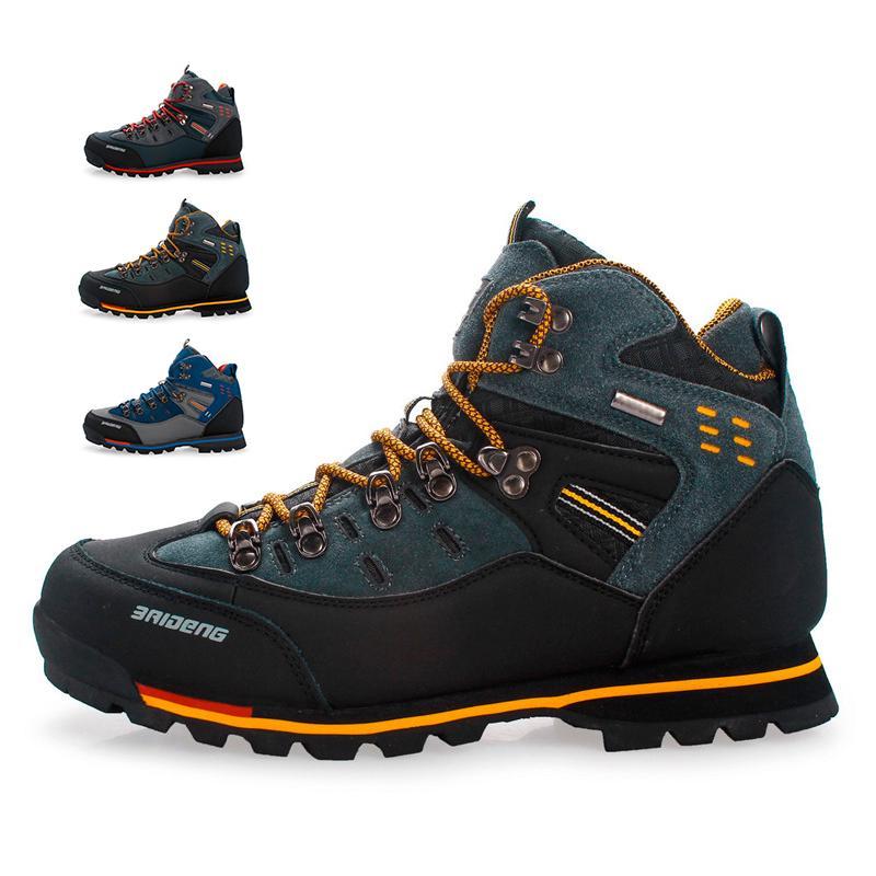 Men/'s Snow Boots Non-slip Warm Cotton Shoes Outdoor Waterproof Hiking Climbing