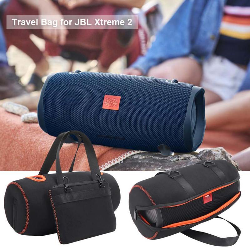 Black+Orange Hard Case for JBL Clip 3 Portable Bluetooth Carry Cover Bag Protective Box