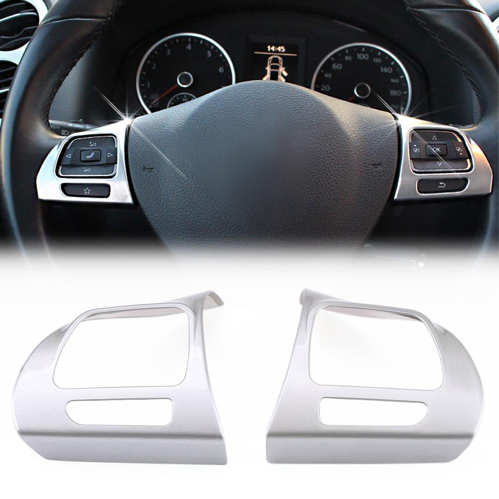 For Volkswagen VW Tiguan 2013-2015 Interior Console Water Cup Holder Panel Cover