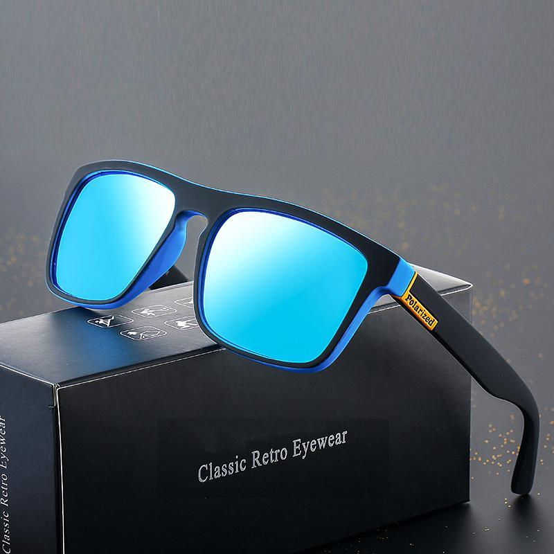 Готовый фондовый Мужчины Дешевые площади Luxury Uv400 Поляризованные классические оттенки Ретро Солнцезащитные очки