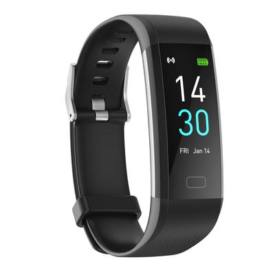 Smart Watch Fitness Tracker, Fitness Bracelet with Temperature Measurement Heart Rate Sleep Monitor, Waterproof Sports Wristband Step Calorie Counter