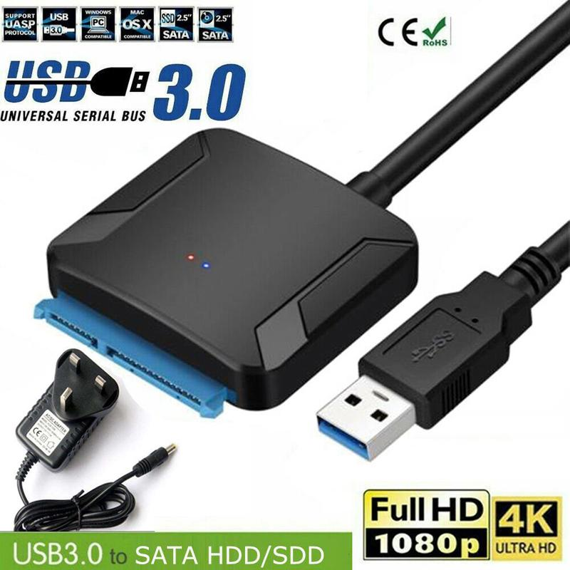 Cable Length: Other Cables USB 3.0 to SATA External Storage Data Cable 2.5inch HDD Enclosure Hard Drive Cable 3Gbps Transfer Rate Cables Connector