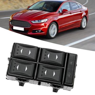 MagiDeal Car Key Case Cover Scratch Protective for Ford C-Max Mondeo Focus Black and Red as described