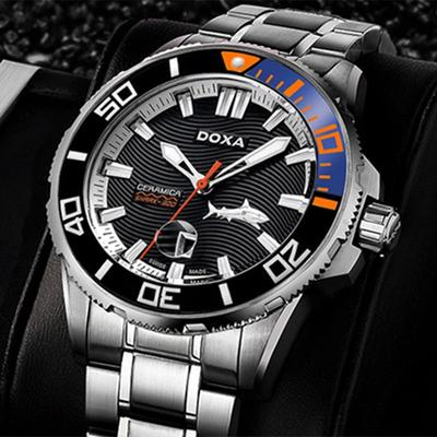 DOXA Swiss Watch Big Shark 300m Waterproof Men's Watch Luminous Sports 46mm Automatic Diving Watch