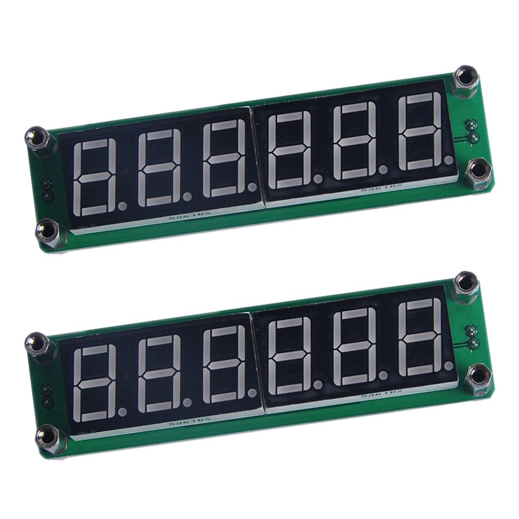 2pc 1mhz 1000mhz 6led Rf Signal Frequency Counter Cymometer Tester 1hz To Meter With Digital Display 1 Of 11