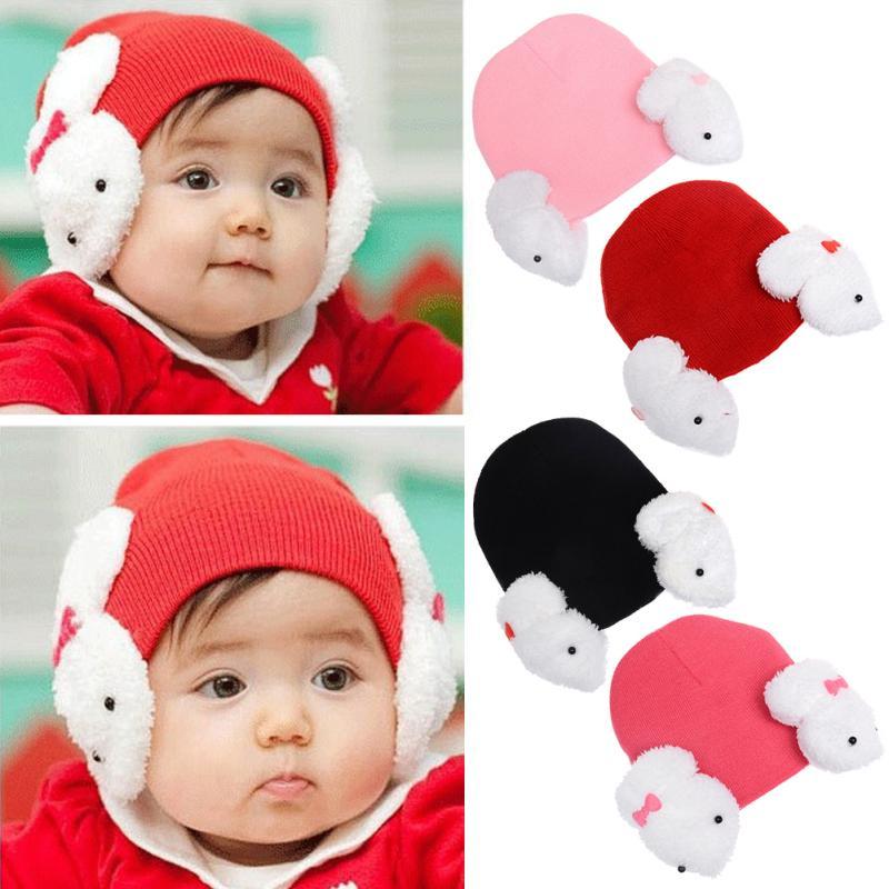 Exquisite Sun Cap Baby Rabbit Ear Bucket Hat Summer Baby Girl Cap Beach Hats