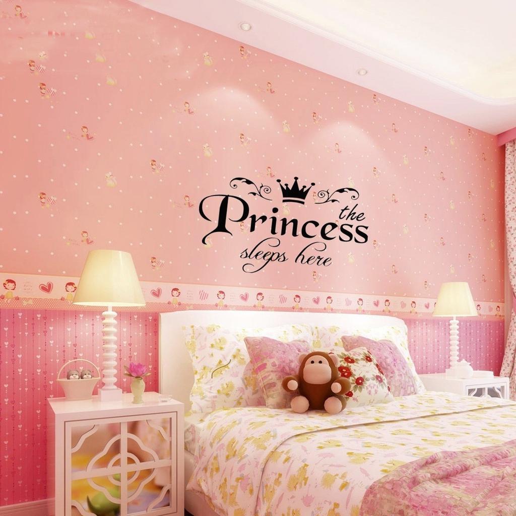 наклейка спальни Dc девочки дети наклейка супергероя фрески стена искусства 3D