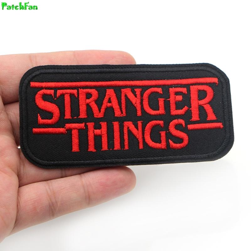 Stranger Things 84 Embroidered Iron On Patch