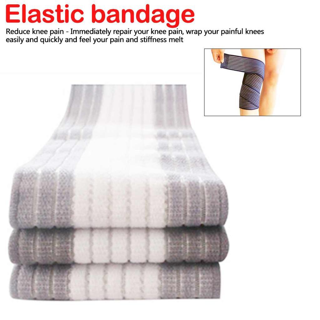 1pc Elastic Bandage Sport Knee Support Strap Shin Guard