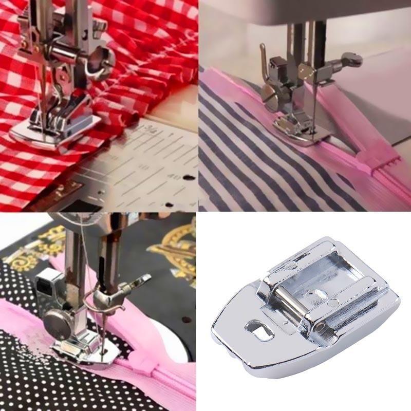 1шт невидимые скрытые оснастки на вшивания Zip для швейной машины фото