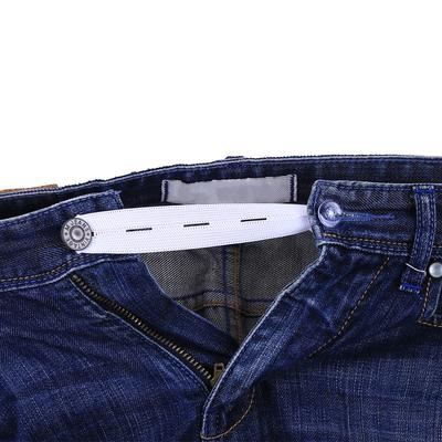 1pc Skirt Trousers Jeans Waist Expander Waistband Button Pant Elastic Extender I