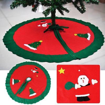 Santa Claus Decorations Christmas Tree Skirt  Xmas Gift