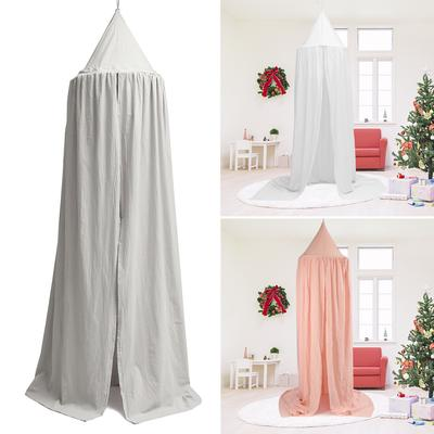 Kids Baby Bed Canopy Bedcover Mosquito Curtain Princess Dome Ball Cotton Tents