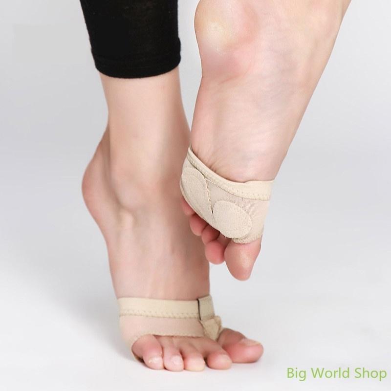 Belly Ballet Dance Foot Thongs Protective Toe Undies Half Lyrical Shoes Socks m