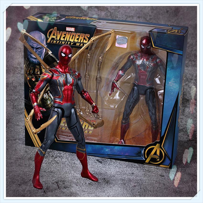 "Xmas Gift 6.5/"" Avengers Super Heros Thor Hulk Thanos Action Figure Glow Toy Kids"
