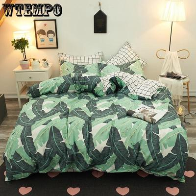 8c3baa8206 WTEMPO Brand fashion Family bedding set soft and comfortable duvet cover