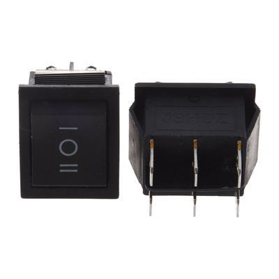 DPDT Heavy Duty Rocker Switch 15A 250V 20A 125V 6P On//Off//On Bat Switch Waterproof Starter Cap Cover