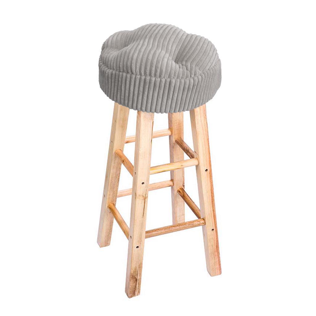 Winter Thicken Round Bar Stool, Round Bar Seat Cushions