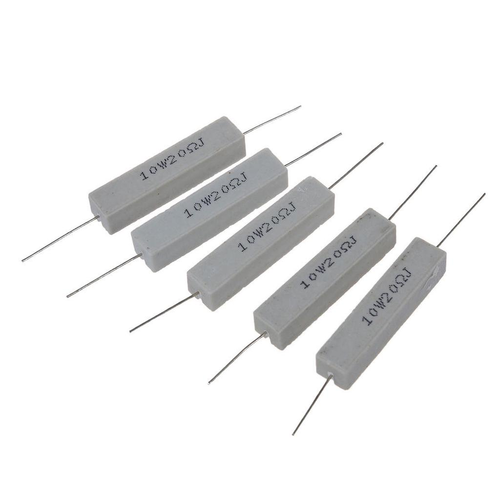 3 Pieces 10W 15 Ohm 10 Watt 5/% Ceramic Cement Power Resistor