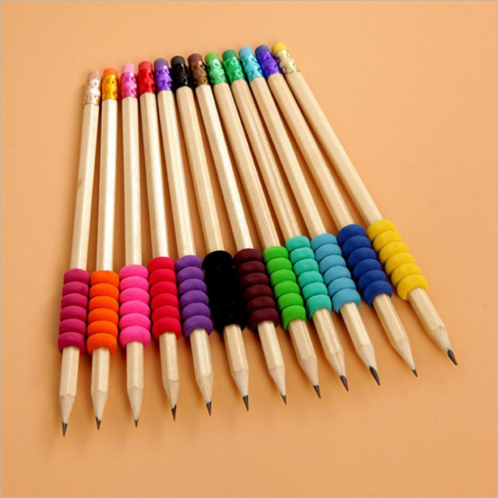 10X Soft anti-slip pen sleeve for diamond painting tools drill pen grip pencil..