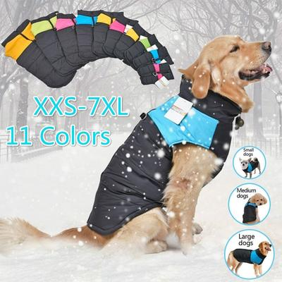 New Pet Dog Clothes Winter Autumn Waterproof Puppy Vest Clothing for Dog Jacket for Dog Chihuahua Clothing Pet Clothes Dog Outfit
