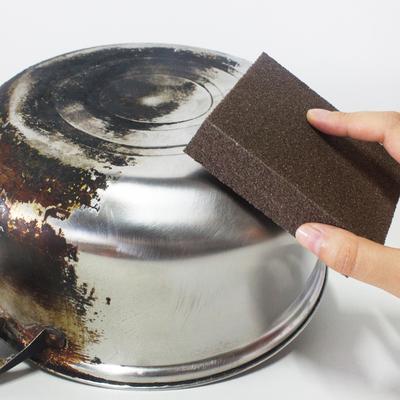 1 Pcs Large Area Carborundum Fine Flexible Descaling Clean Magic Brush Sanging Sponge