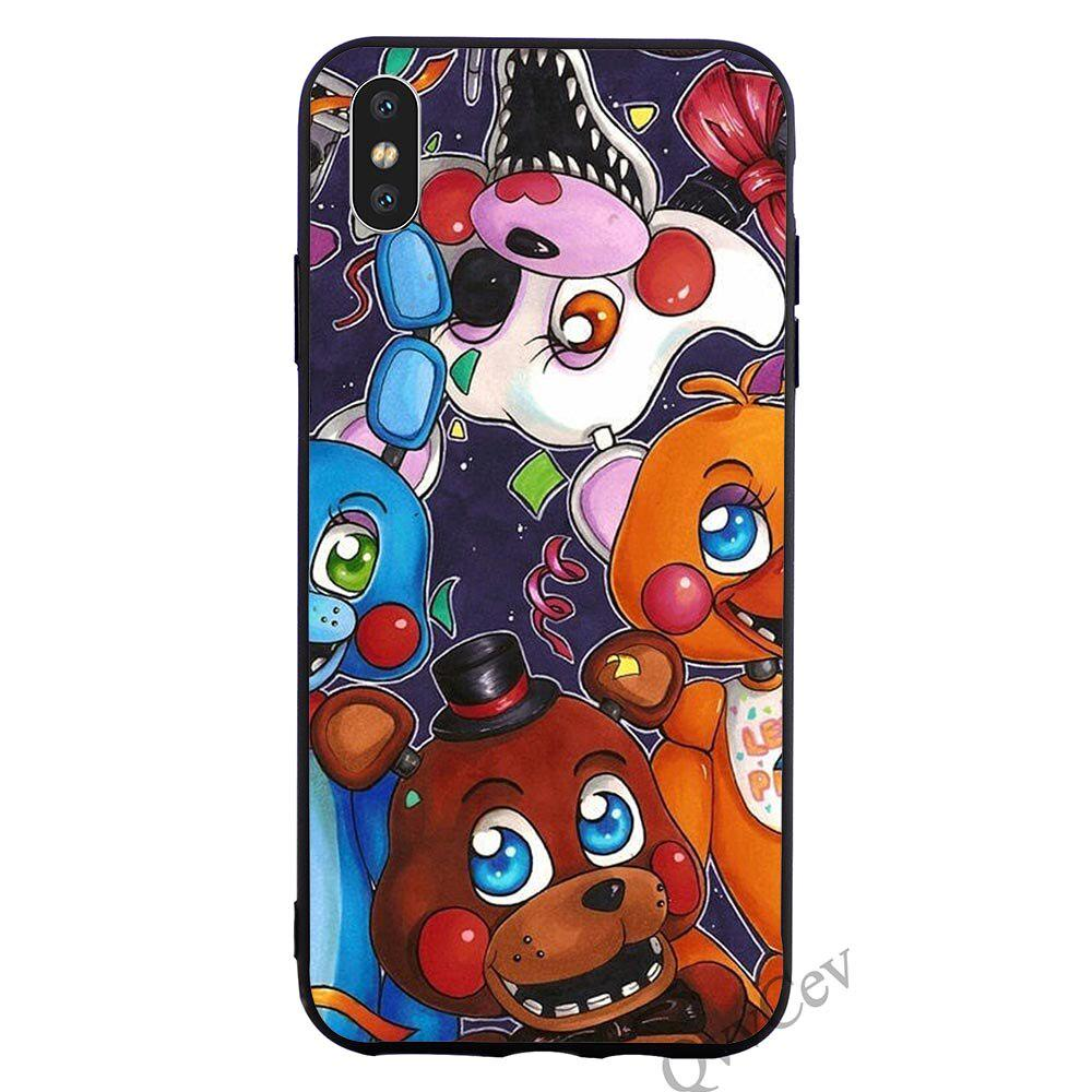 Five Nights At Freddy Phone Case Back Cover for iPhone X Xs Samsung Galaxy S10 S9 Huawei Xiaomi