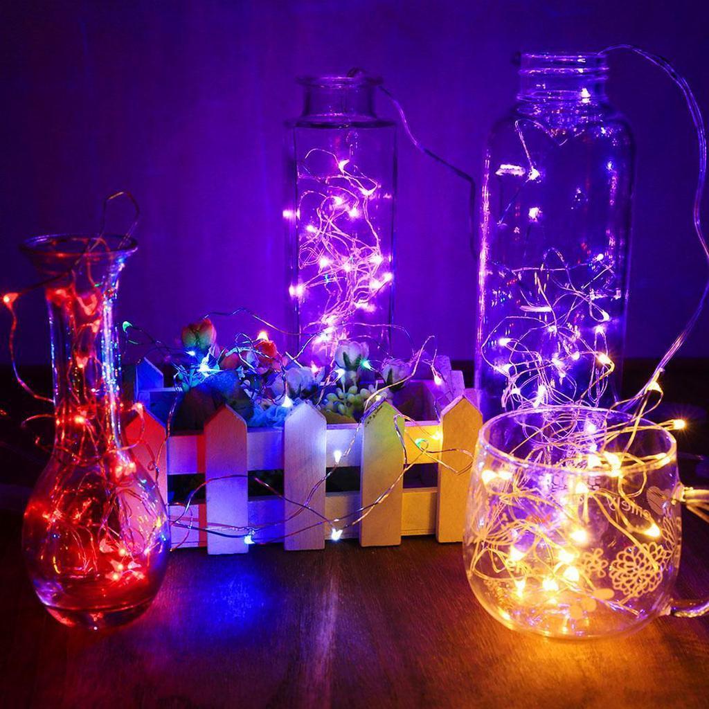 ENIC Led Lampen Schaltfläche Zelle Batterie Power String Hochzeit ...