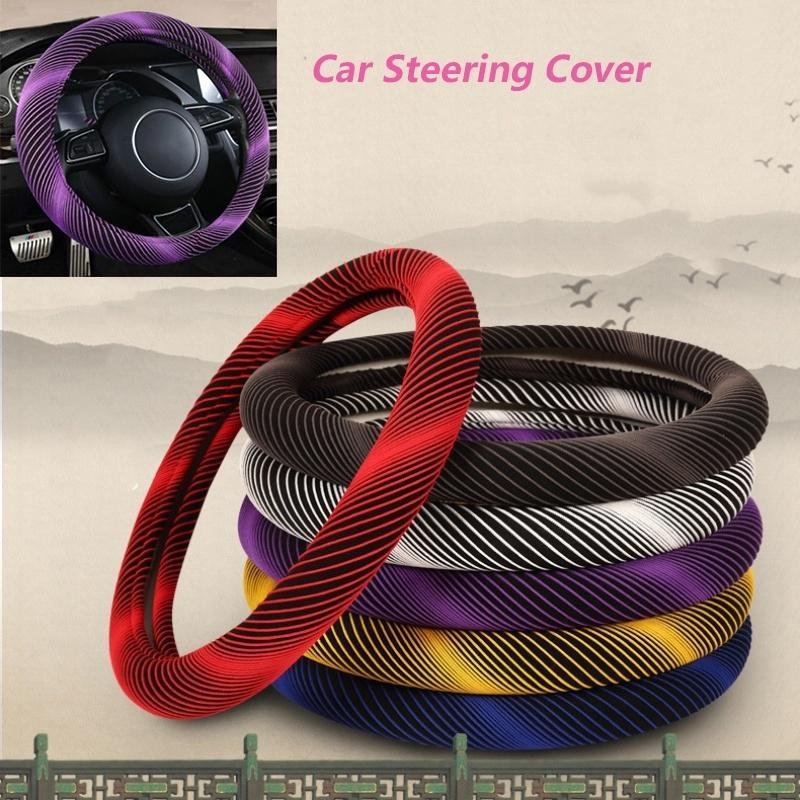 purple for Manual 3pcs set de lana sint/ética Cubierta del volante y cubierta del freno de mano y cubierta del engranaje interior del coche para el invierno