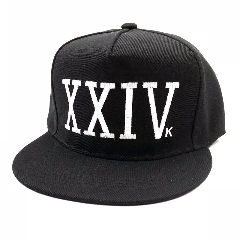 Unisex gorra Gorras algodón hueso rapero XXIV papá sombrero Hip Hop ... 3d1d0e223c0
