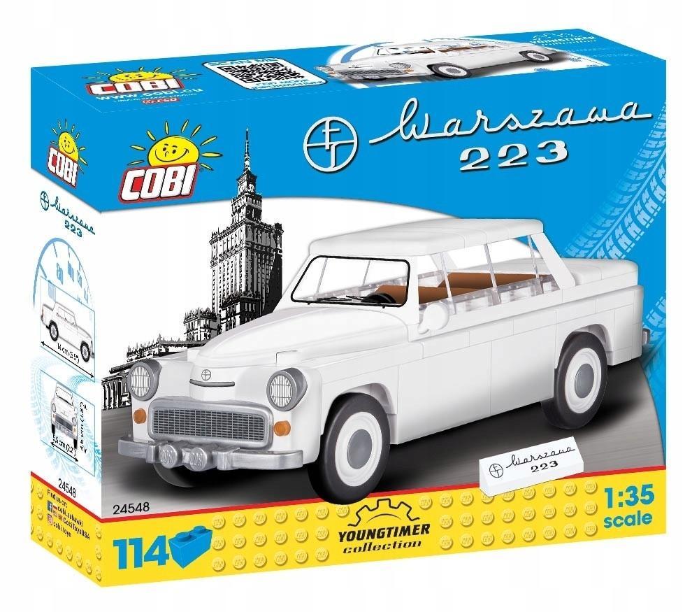 COBI 24542-73 piece automobile Wartburg 353