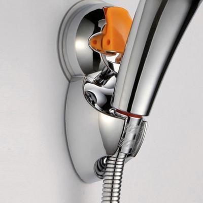 Aluminio regulable práctico aspersor Base baño ducha cabeza soporte ventosa  para cuarto de baño 3be548f34fc8
