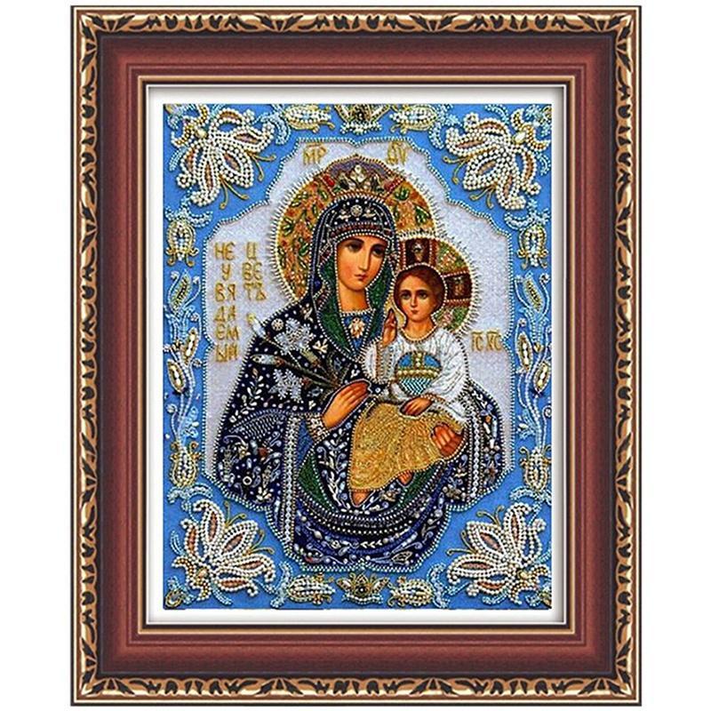 5D DIY Full Drill Diamond Painting Jesus Embroidery Mosaic Craft Kits Decor LY