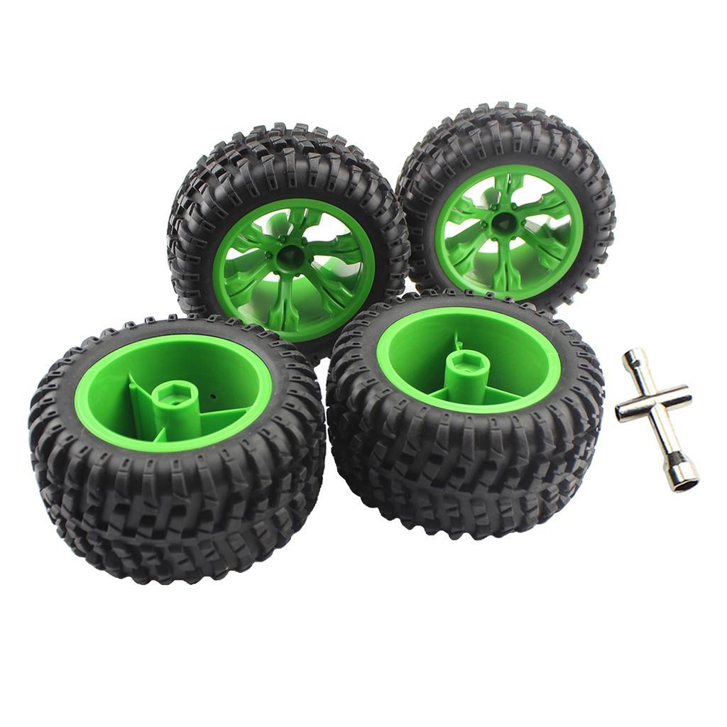4Pcs Wltoys 12428-A 12428-CRC 1:12 Remote Control Cars Tire Parts 110mm Dia