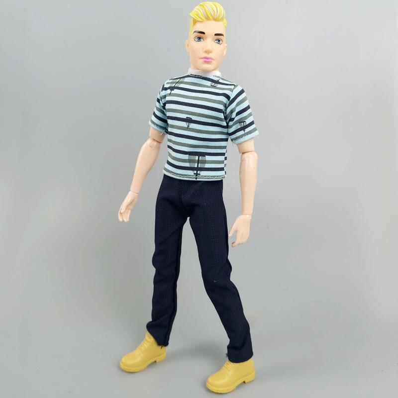 1//6 BJD Doll Ken Boy Doll MAN Body 30cm Movable 9 Jointed Ken Prince DIY Kid Toy