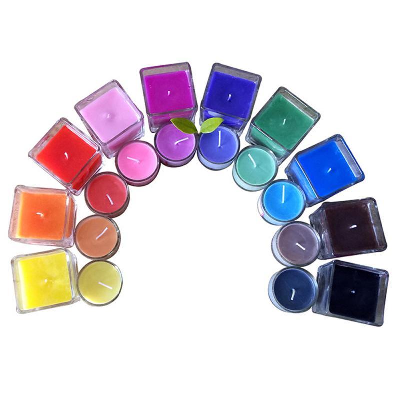 Соевый воск краситель маслянистый краситель свечи Solvent Пигмент DIY ручной свечи Изготовление материала – купить по низким ценам в интернет-магазине Joom