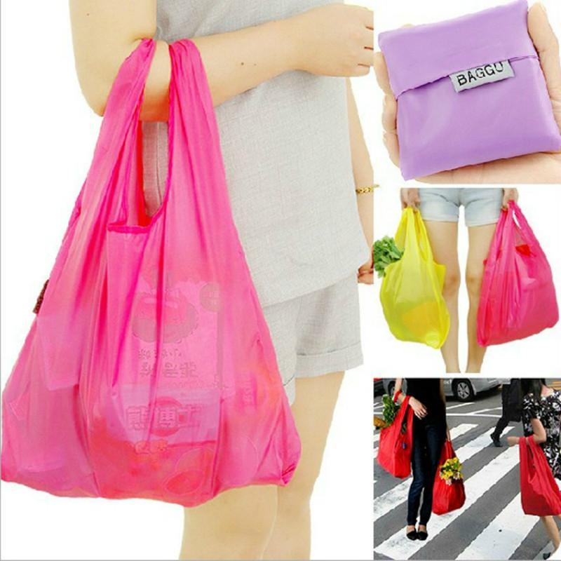 Reuseable Eco Shopping Travel Shoulder Bag Pouch Tote Handbag Folding  Reusable Bags-buy at a low prices on Joom e-commerce platform e267831bac2fb
