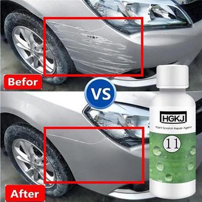 Car Scratches Repair Polishing Liquid Wax and Glass Wiper Decontamination Effervescent Car Glass Cleaning