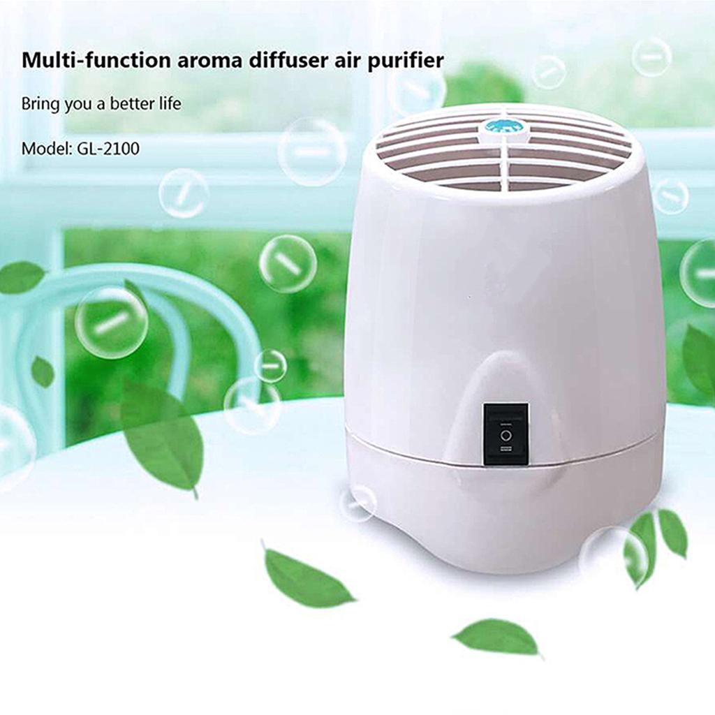 Portable Home Air Purifier With Aroma Diffuser Ozone Generator And Anion Generat