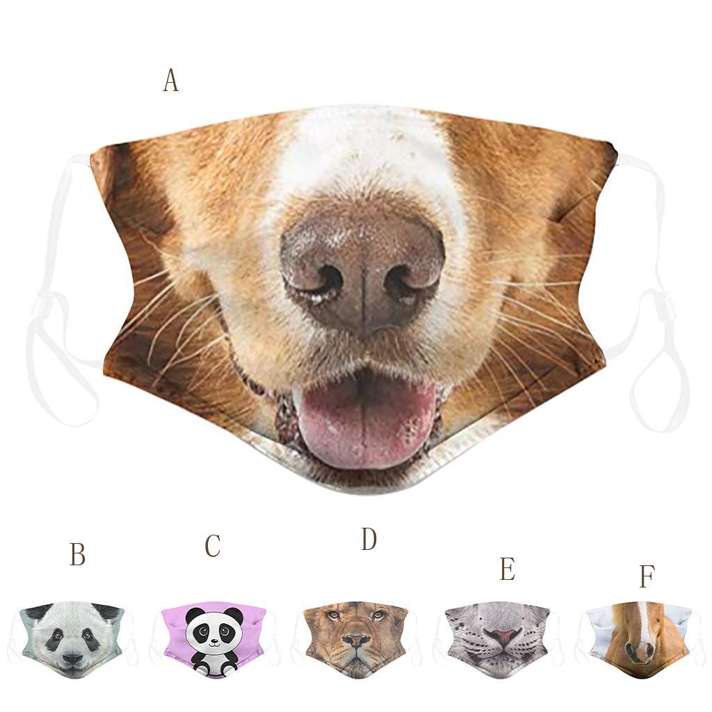 PB Взрослые животные Печатные маски для лица – купить по низким ценам в интернет-магазине Joom