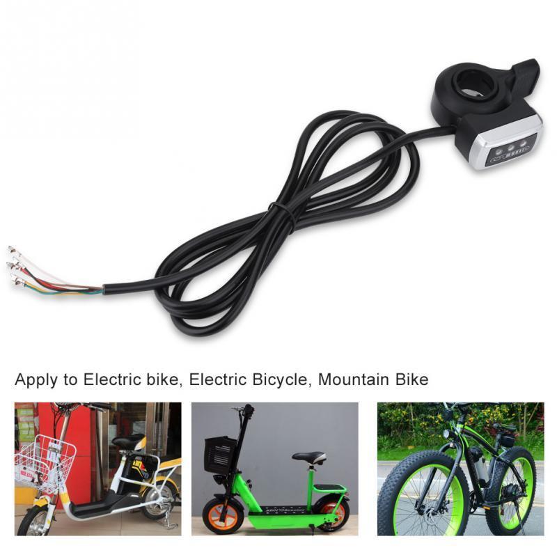 22mm Daumengas Daumen Gouverneur Geschwindigkeit Kontroller für E-Bike Scooter
