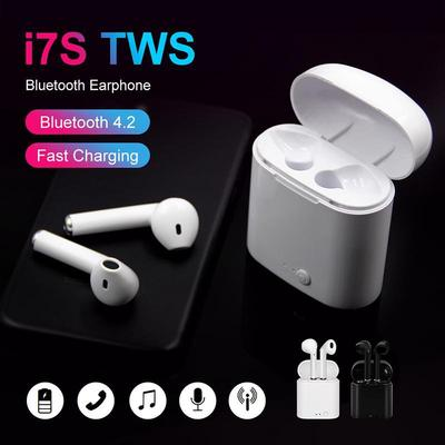 Wireless Tws Bluetooth Earbuds Mic For Phone Tablet Sports Stereo Sound Headsets With Charging Box Buy At A Low Prices On Joom E Commerce Platform