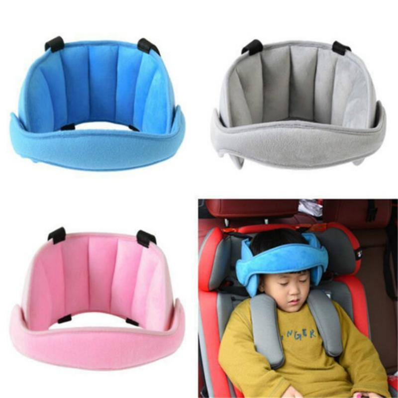 Blue GOHIGH Child Car Seat Head Support Band Adjustable Comfortable Protect Pad Sleeping Headrest Neck Relief for Kids Children Toddler Infant and Adults