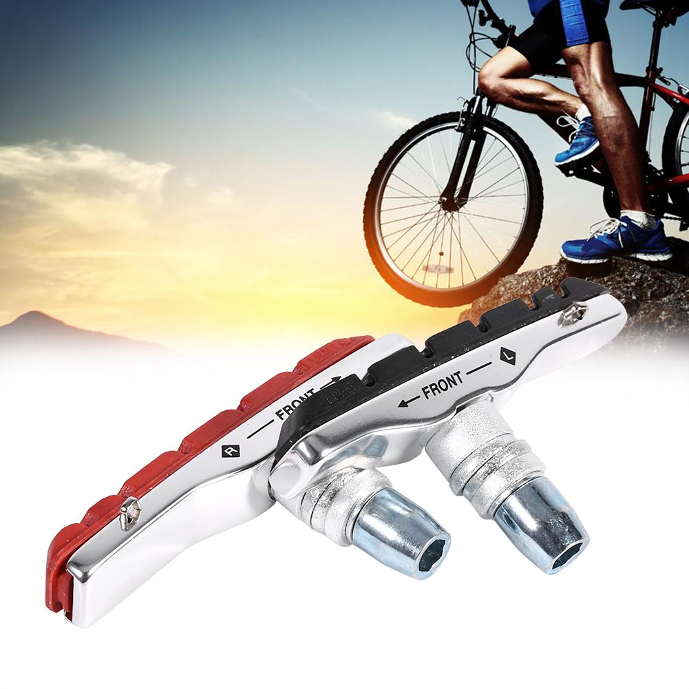 Mountain Bike Road Cycling Rubber V Brake Holder Shoes Pads Accessories one pair