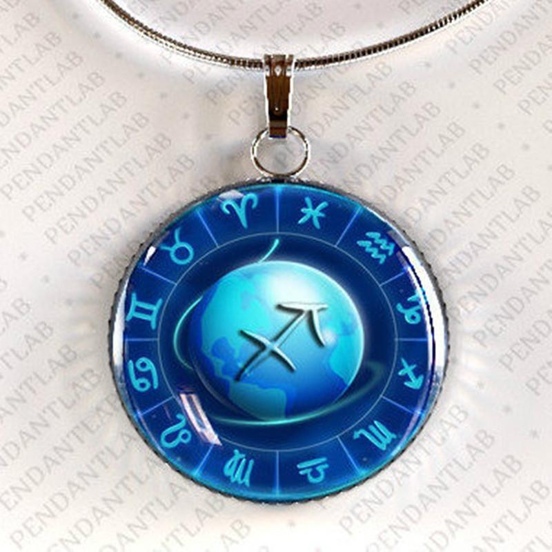 Sign of the Zodiac Steampunk necklace Pendant Zodiac Round pendant Necklace Gift for Her Steampunk gift Vintage Pendant Zodiac Gifts