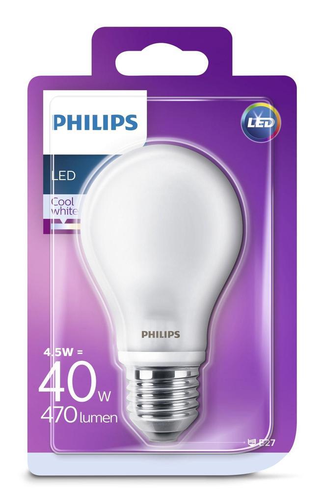 PHILIPS LED Lampe A60 E27 2.2W 25W 2700K