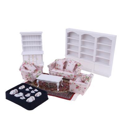 Maison de poupées miniature échelle 1//12th Rouge Boîte à outils avec assortiment de 8 Outils NEUF