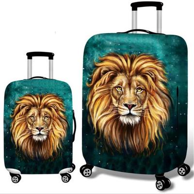 Cute 3D Sweet Dream Catcher Pattern Luggage Protector Travel Luggage Cover Trolley Case Protective Cover Fits 18-32 Inch